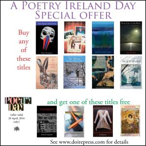 poetry ireland doire press - day offer